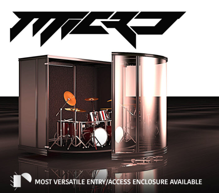 Drum Enclosure Drum Isolation Booth Drum Cages For